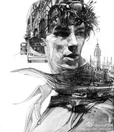 A Man of the City by Zhang Weber. // If you follow the link, scroll down a bit; it's the second one down.