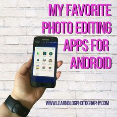 Android Apps For Photo Editing