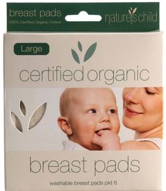 Natures Child Certified Organic Breast Pads Large - Breast Pumps & Accessories - Feeding - Baby Basics | Babycity