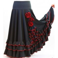 Spanish style – Mediterranean Home Decor Flamenco Shoes, Flamenco Costume, Flamenco Skirt, Flamenco Rock, Skirt Outfits, Dress Skirt, Dress Up, Girl Fashion, Fashion Outfits