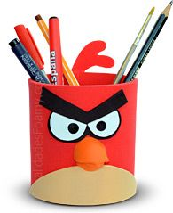 53 Trendy Ideas For Angry Bird Crafts For Kids - Schulanfang 2019 Paper Cup Crafts, Bird Crafts, Foam Crafts, Preschool Crafts, Diy And Crafts, Crafts For Kids, Arts And Crafts, Minion Party, Angry Birds