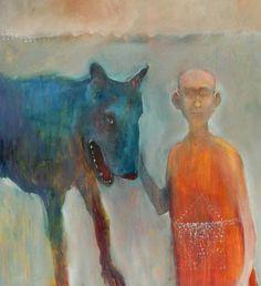 Mel McCuddin, Canis Major 2008, oil on canvas