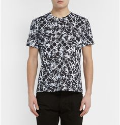 Balenciaga Printed Cotton-Jersey T-Shirt £245