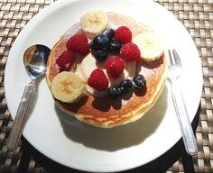 Sweet fruits Pancake at Daikanyama in Tokyo