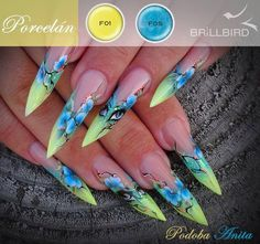 An older one, I found it today. One Stroke Nails, Edge Nails, Foto Poster, Super Cute Nails, Nails Only, Nail Candy, Luxury Nails, French Tip Nails, Fancy Nails