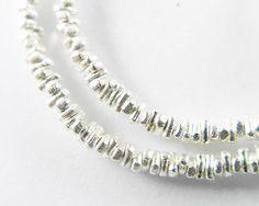 160 of Karen Hill Tribe Silver Stick Beads 2x1 mm. :ka3396