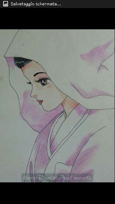 Manga in matita e pastelli