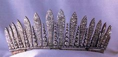 The Habsburg Fringe Tiara of the royal Lichenstein family.