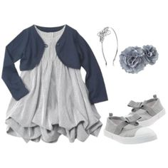 Baby-Girl-Fashion-Dresses: Gray