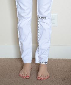 This website has tips and tutorials for altering all kinds of clothes from pants to polos and dresses.