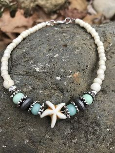 Ankle Bracelet Beach Anklet Starfish Anklets Womans Anklet #diyankletsankle