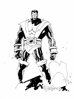 Colossus by Mike Mignola