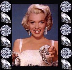 Diamonds Are A Girl's Best Friends Marilyn Monroe
