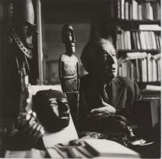 Andre Breton and his objects
