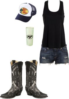 """Sweet Tea and Summertime"" by cj98girl on Polyvore ~~country fashion~~"