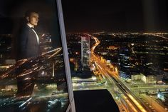 Warsaw seen from 50th floor of ZŁOTA 44 #city#warsaw#view#lights