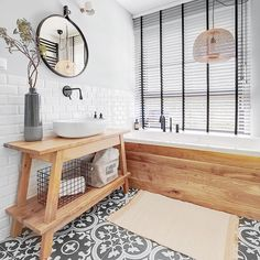Excellent Wooden Bathroom Designs Ideas To Try - Page 19 of 32 - Making Your Dream Home a Reality Bathroom Red, Wooden Bathroom, Boho Bathroom, Bathroom Colors, Bathroom Ideas, Bathroom Photos, Bathroom Furniture, Best Bathroom Designs, Bathroom Design Small