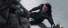 Imagine saving Loki<<<--- imagine saving a random guy who's probably the same species as another guy you met briefly a few days ago before he got killed? and then finding out  1) that's his little brother, and 2) he isn't dead