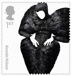 Great British Fashion Stamp by The Royal Mail