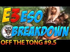 Check out our latest blast of ESO info! ► The Elder Scrolls Online - E3 ESO Breakdown - PVP - Guilds - Custom Mo...