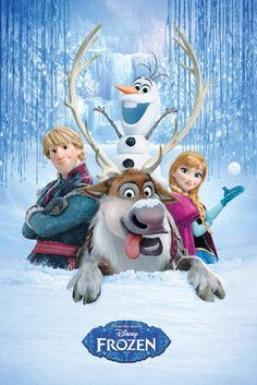 Frozen - Disney - Snow Group - Official Poster
