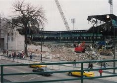 Comiskey Park demolition
