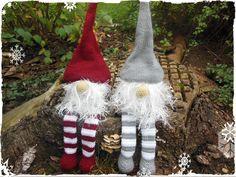 Kantenhocker Weihnachtswichtel Häkelanleitung  von Binchen's kleine Häkelwelt auf DaWanda.com