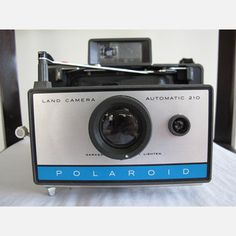 Polaroid 210 Land Camera now featured on Fab.