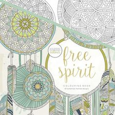 Kaisercraft Free Spirit Colouring Book White 25 Cm