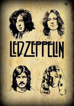 Led Zeppelin ~ Best rock band of all times!