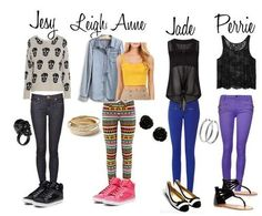 Little mix inspired outfits