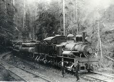 logging Trains | Logging Railroad Shay - Oregon