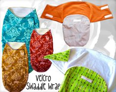 swaddle baby wrap pattern