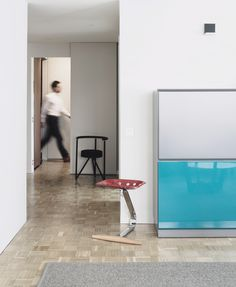 Apartment refurbishment in Pamplona by MLMR #interiors #interiordesign #mezzadro #castiglioni #starck