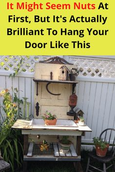 If you're remodeling or upgrading your home, you should definitely hold onto your unwanted doors. There are tons of ways you can easily upcycle them and create cool projects around your home that look like they were crafted by professionals or came from a fancy store.