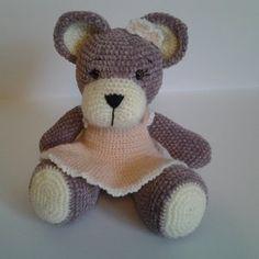 Cadeau naissance Teddy Bears, Crochet, Creations, Toys, How To Make, Animals, Amigurumi, Crochet Hooks, Animales