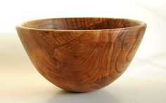 English Elm wooden Bowl,handmade woodturning
