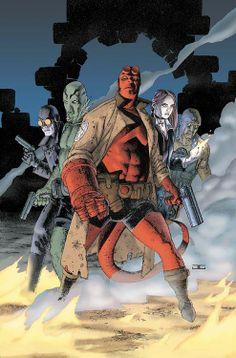 Hellboy by John Cassaday