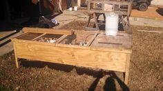 use 1 sheet of plywood