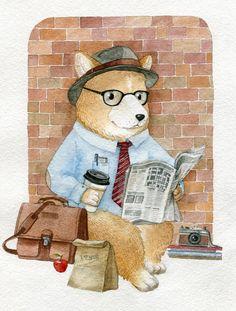 Посмотреть иллюстрацию Богданова Дарья - Журналист.