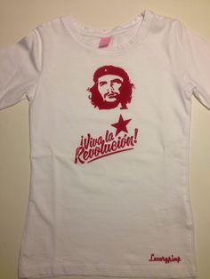 Unikat! Luxurypimp T-Shirt Motiv: I Viva la Revulotion Ché Guevara