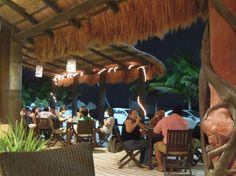 Dinner and drinks at Luna de Plata, a favorite of locals and crew members Costa Maya, Galveston, Rotterdam, Westerns, Cruise, Things To Do, Mexico, Patio, Dinner