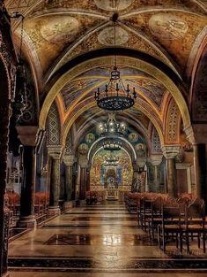 Εσωτερικός διάκοσμος φωτό διαδύκτιο Barcelona Cathedral, Building, Travel, Viajes, Buildings, Destinations, Traveling, Trips, Construction