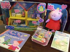 """New Peppa Pig Toys at Toys """"R"""" Us  They will make great Christmas gifts!"""