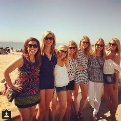 The blonde brigade + a brunette of course  @tay__elizabeth #regram #caughtinchloeoliver