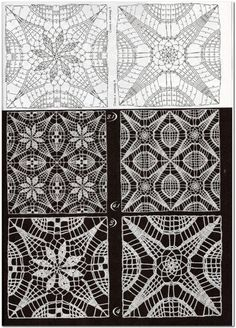 Transcendent Crochet a Solid Granny Square Ideas. Inconceivable Crochet a Solid Granny Square Ideas. Crochet Motif Patterns, Square Patterns, Crochet Chart, Crochet Squares, Thread Crochet, Stitch Patterns, Granny Squares, Tunisian Crochet, Crochet Granny