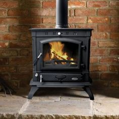 Multi Fuel Stove, Stove Fireplace, Home And Garden, Home Appliances, Stoves, Fireplaces, Wood, House Appliances, Fireplace Set