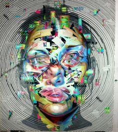 Justin Bower. #justinbower http://www.widewalls.ch/artist/justin-bower/