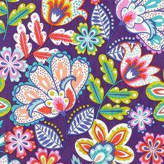 Sew Scrumptious Fabrics - Michael Miller - Esme (Grape), £3.00 (http://www.sewscrumptious.co.uk/michael-miller-esme-grape/)