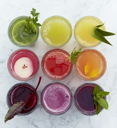 Gorgeous summertime drinks